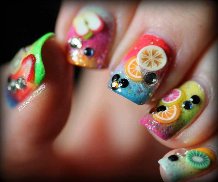 Tropical Fruit Gradient