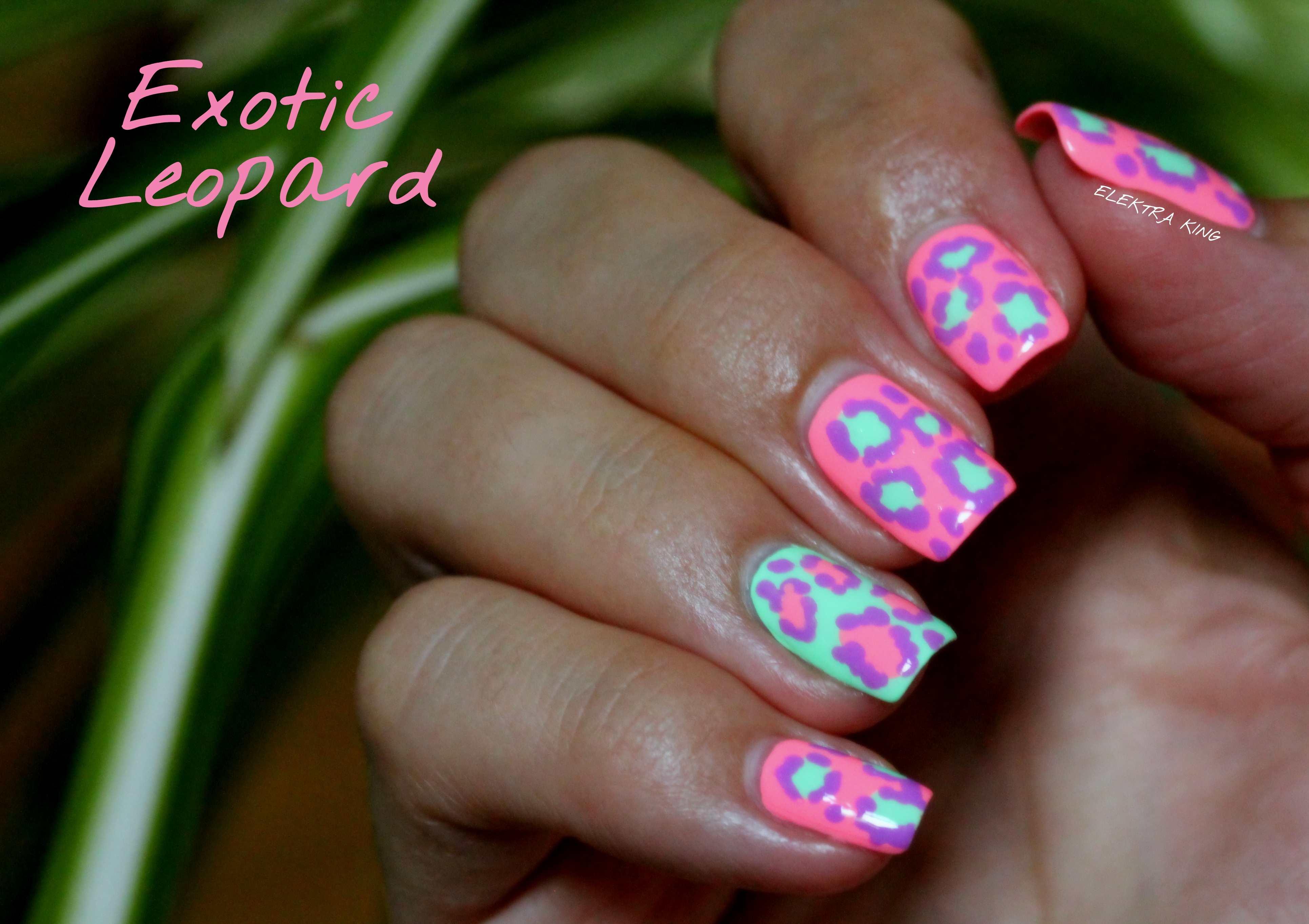 My Neon Summer #9: Exotic Leopard – Elektra Deluxe