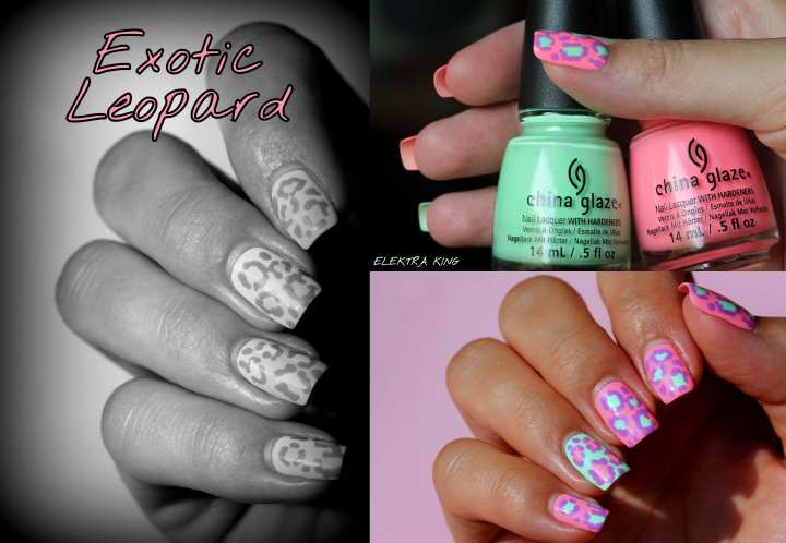 China Glaze Sunsational leopard