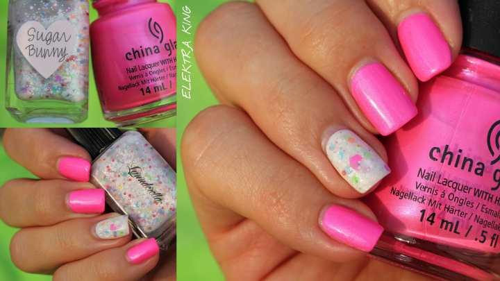 China Glaze Hangten Toes Lynnderella Sugar Bunny
