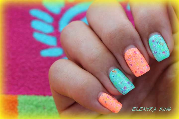 China Glaze Sunsational Lush Clowning Around