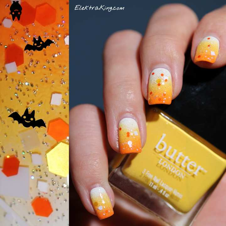 Candy Corn Manicure Elektra King