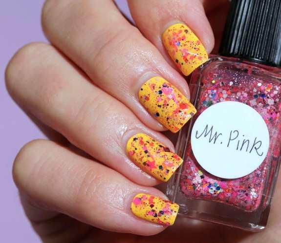 Lynnderella Mr Pink Butter London Pimms