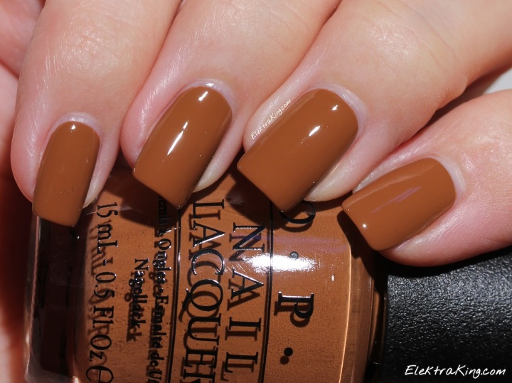 #OPI A-Piers To Be Tan