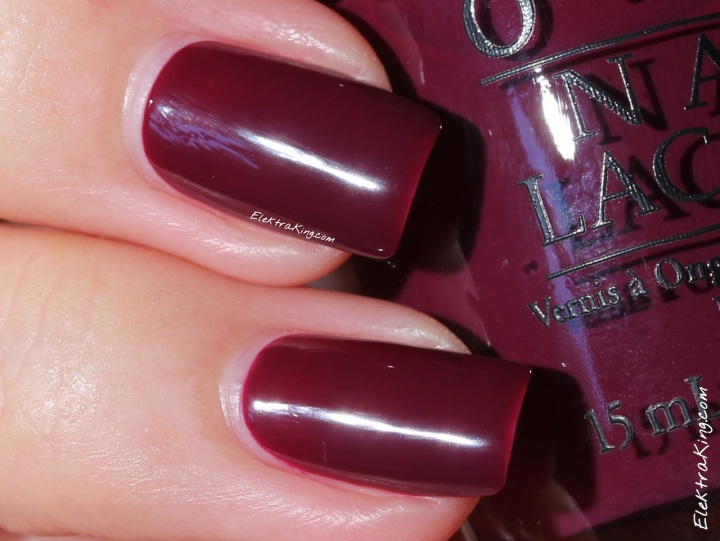 #OPI In The Cable Car-Pool Lane