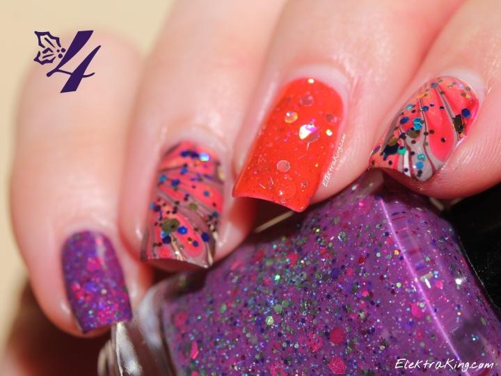 KBShimmer Skittle Manicure