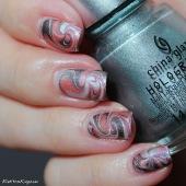 15 20131215 #ChinaGlaze Hologlam Swirl 2