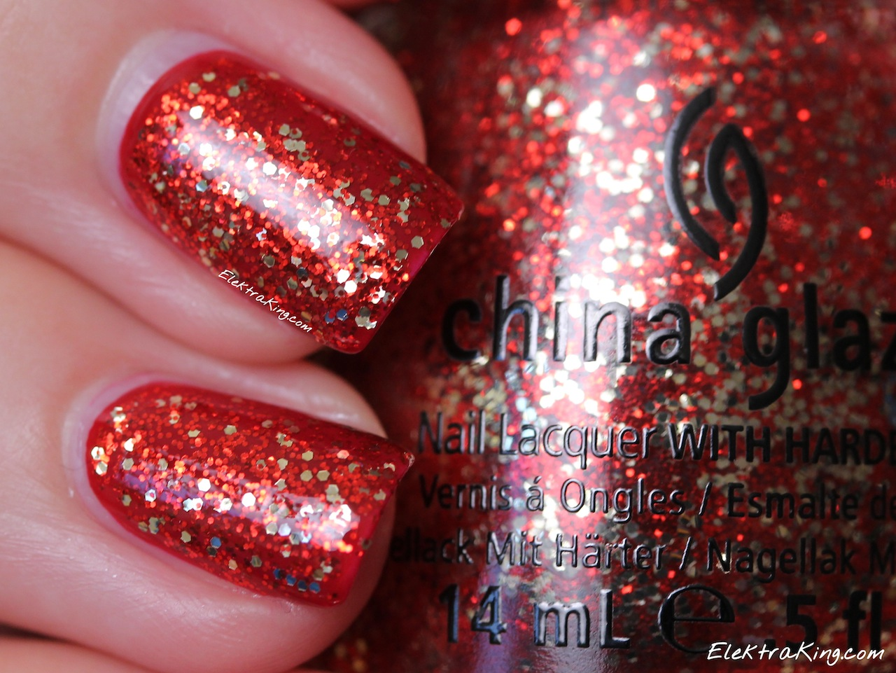All I Want For Christmas (Is OPI) China Glaze Pure Joy – Elektra Deluxe