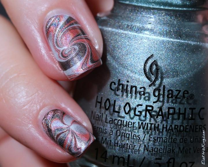 China Glaze Hologlam Water Marble