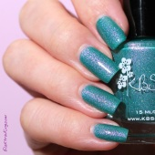6 20131206 #KBShimmer Teal Another Tail 1