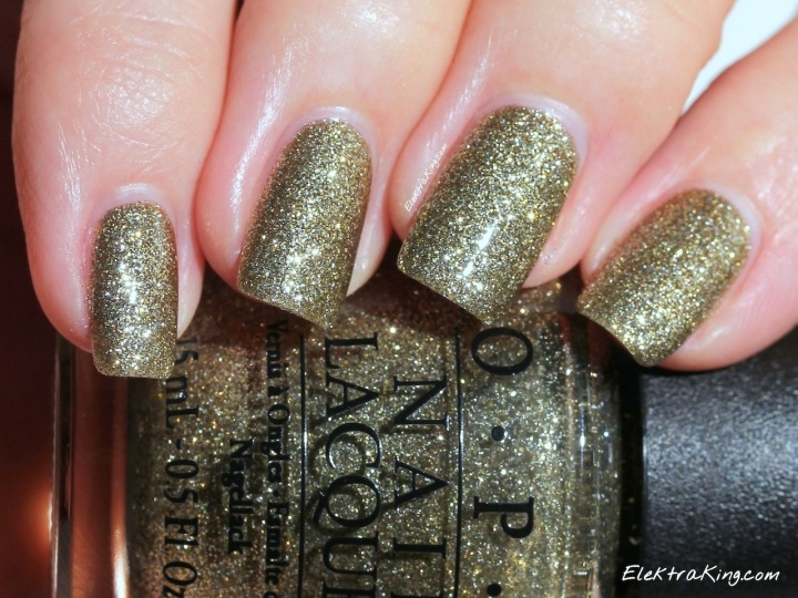 OPI All Sparkly And Gold