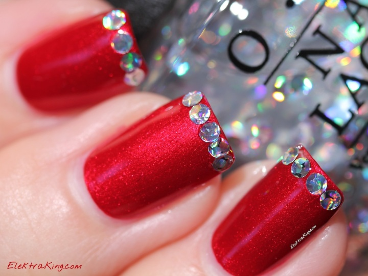 OPI I Snow You Love Me