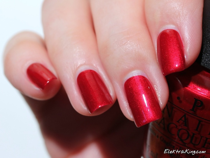OPI In My Santa Suit
