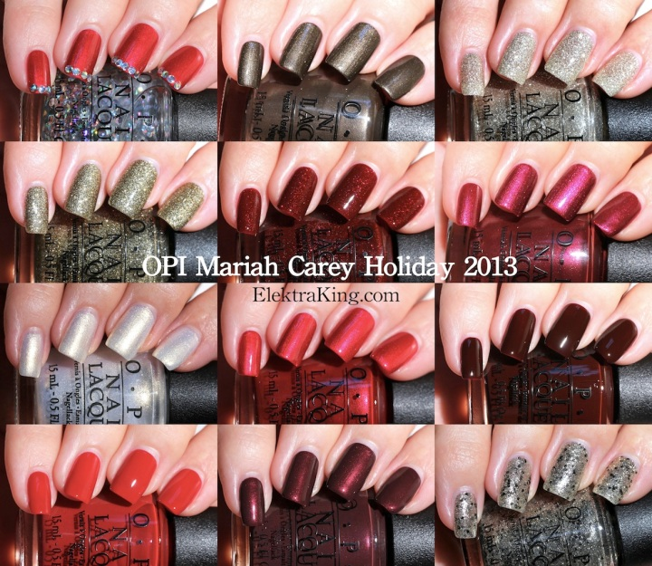 OPI Mariah Carey Holiday 2013 Collection