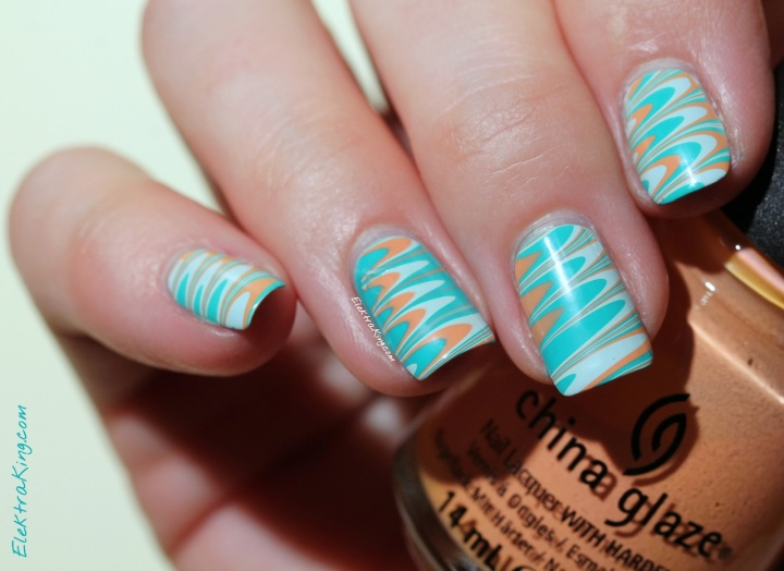 China Glaze Up & Away Water Marble