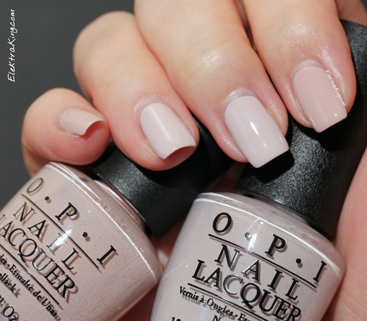 OPI Don't Bossa Nova Me Around vs My Very First Knockwurst
