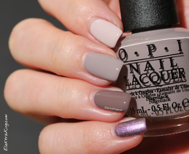 OPI Brazil Taupe Ombre