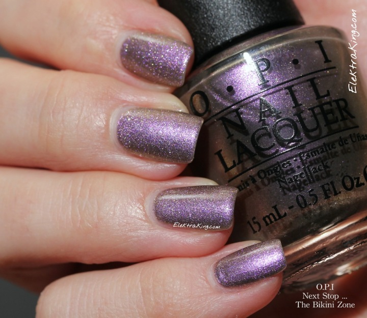 OPI Next Stop … The Bikini Zone