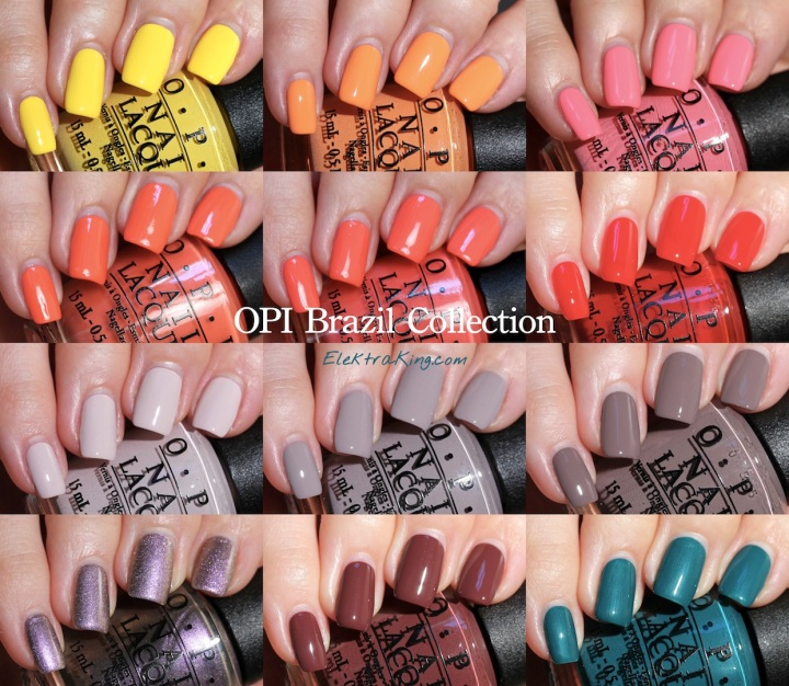 OPI Brazil Collection Spring 2014
