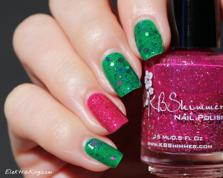 KBShimmer The Dancing Green & It's Razz-ical