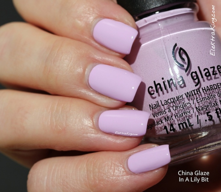 China Glaze In A Lily Bit