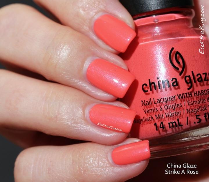 China Glaze Strike A Rose