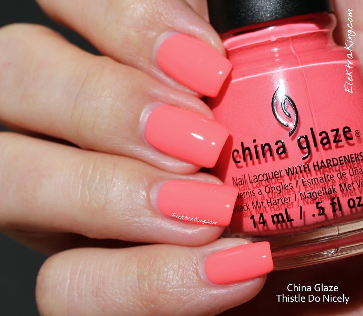 China Glaze Thistle Do Nicely