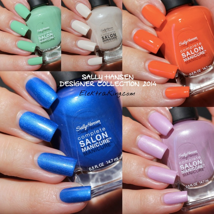 Sally Hansen Designer Collection 2014