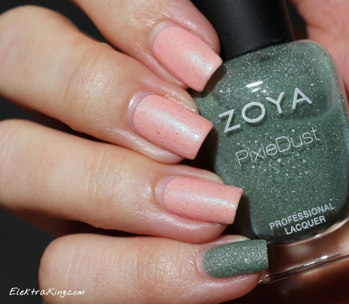 Rescue Beauty Lounge Naked Without Polish & Zoya Vespa