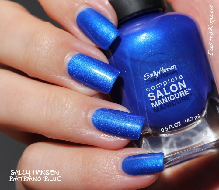 Sally Hansen Batbano Blue
