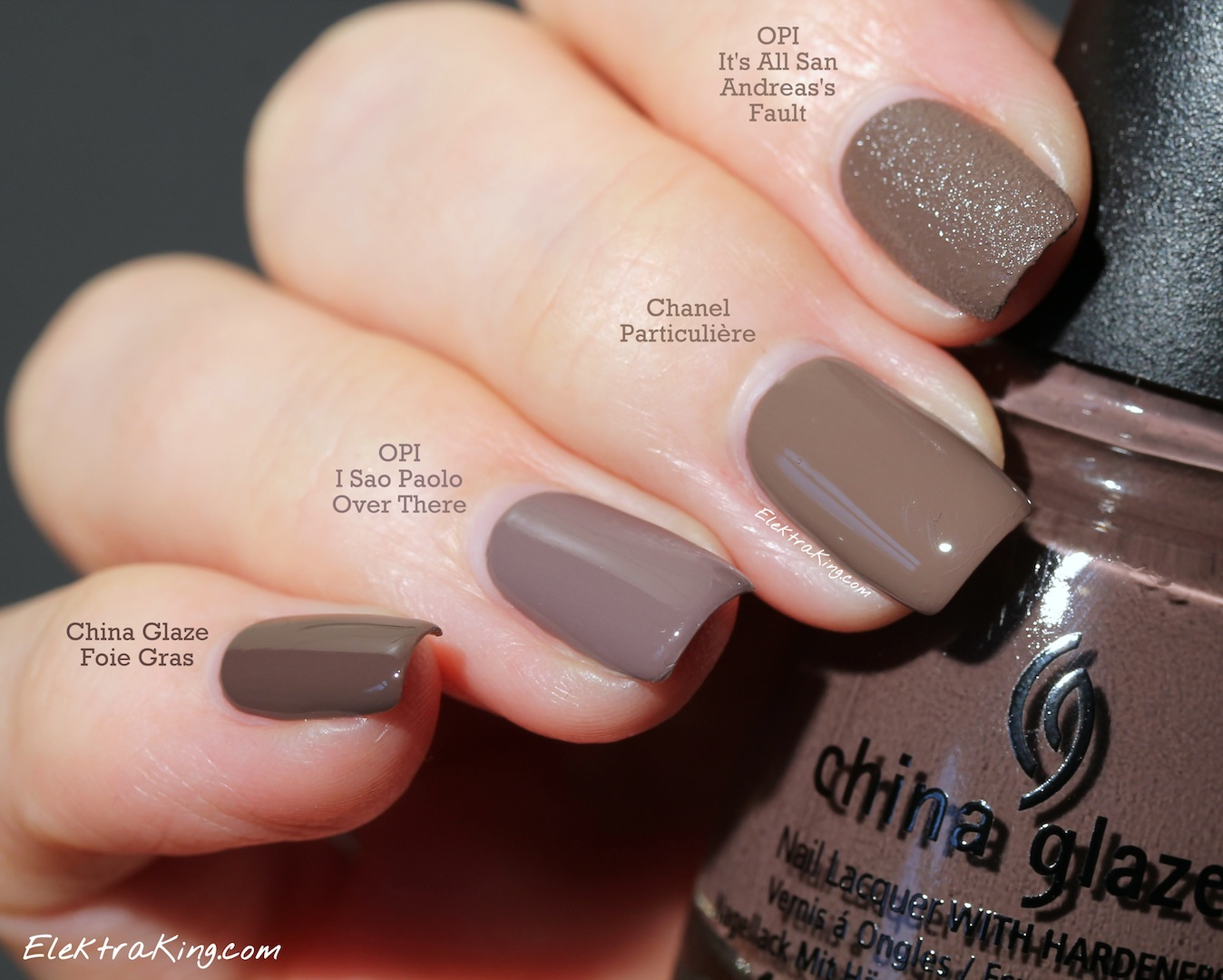 Taupe is the new Red – Elektra Deluxe
