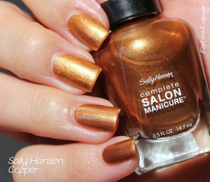 Sally Hansen Copper