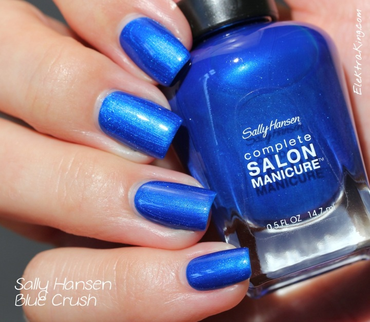 Sally Hansen Blue Crush