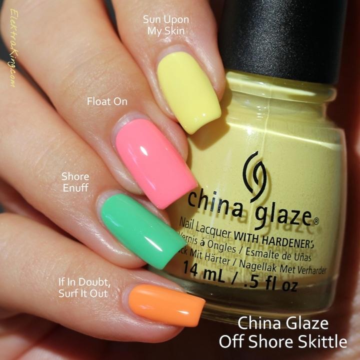 China Glaze Off Shore Skittle