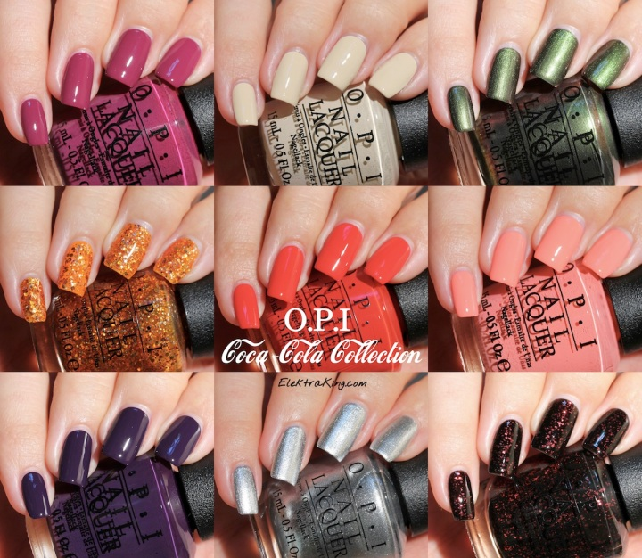 OPI Coca-Cola Collection