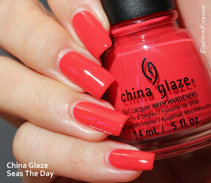 China Glaze Seas The Day