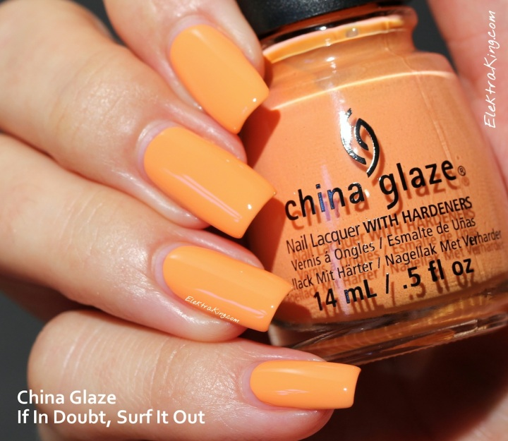 China Glaze If In Doubt, Surf It Out