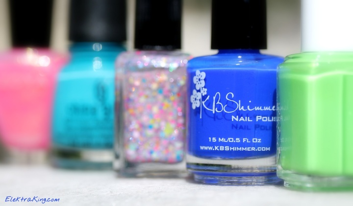 My Top 5 Summer Polishes