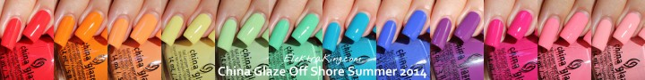 China Glaze Off Shore Collection