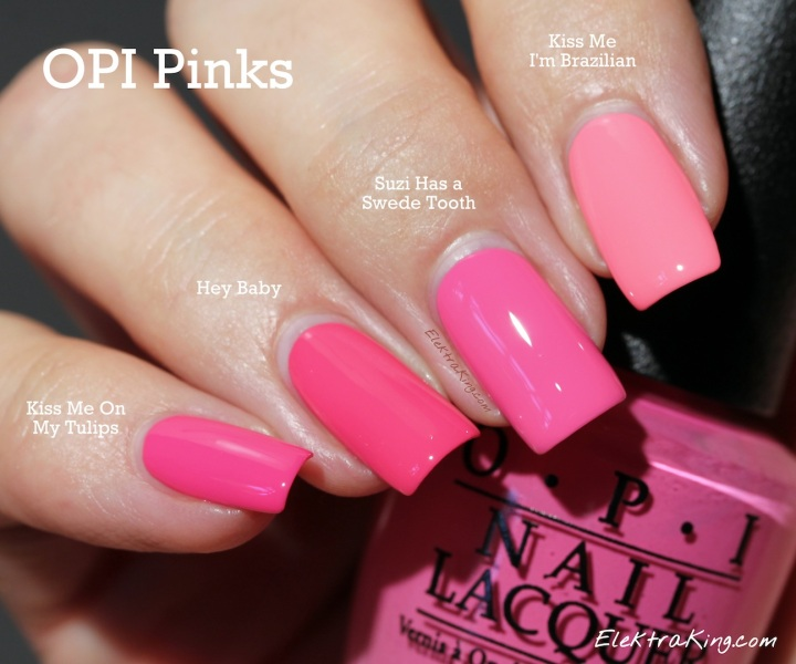 OPI Pinks