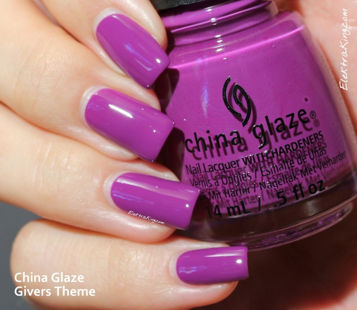 China Glaze Givers Theme