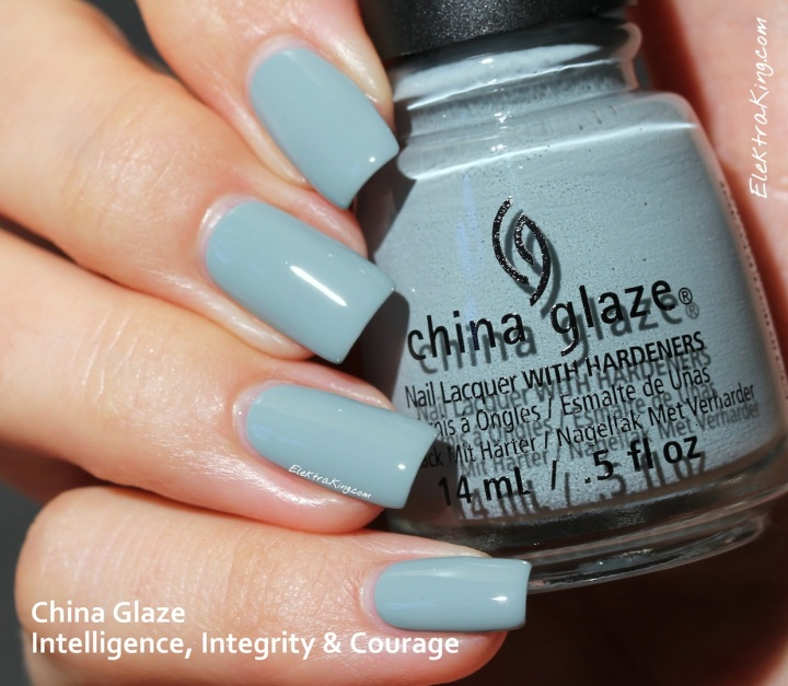 China Glaze Intelligence, Integrity & Courage