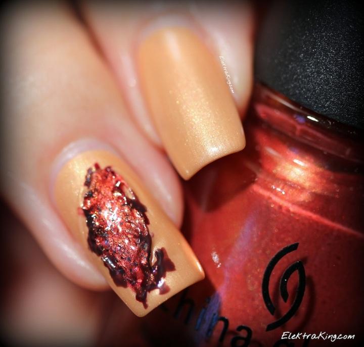 Bloody nail