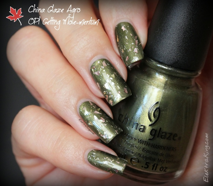 China Glaze Agro, OPI Gaining Mole-mentum