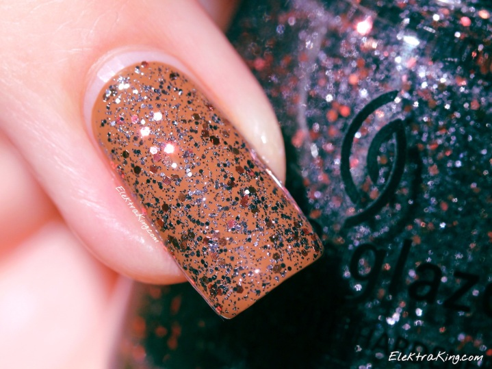 OPI Ice-Bergers & Fries, China Glaze Loco-Motive