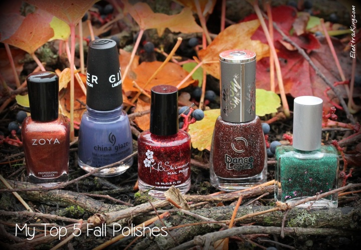 My Top 5 Fall Polishes 2014