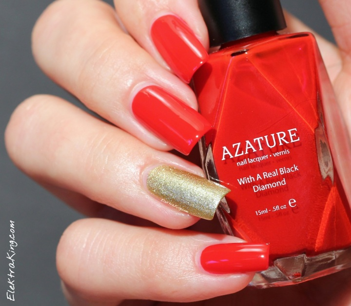 AZATURE Ruby & Gold Diamond