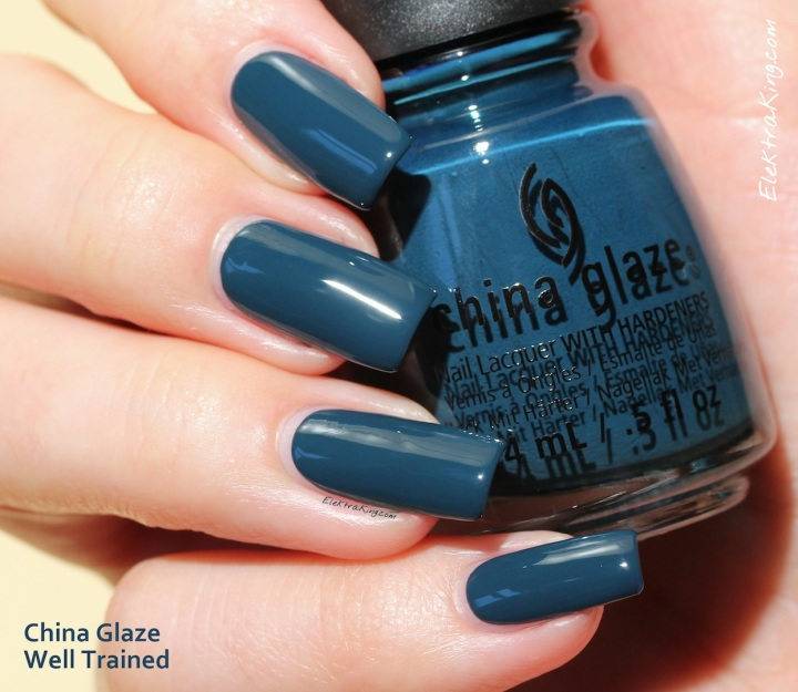 China Glaze Well Trained