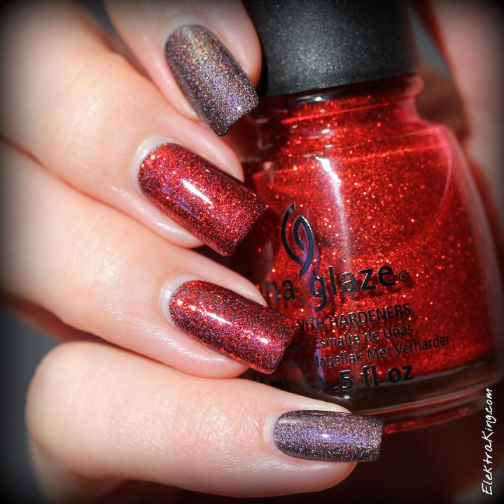 A England Sleeping Place, China Glaze Ring In The Red
