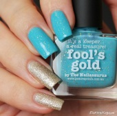 Picture Polish Fool's Gold & Zoya Tomoko